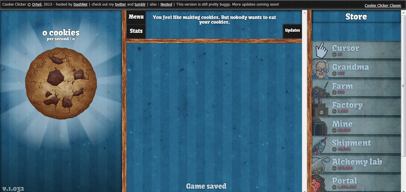 Gaming] Cookie Clicker, The Most Fun (and Pointless) Game On The