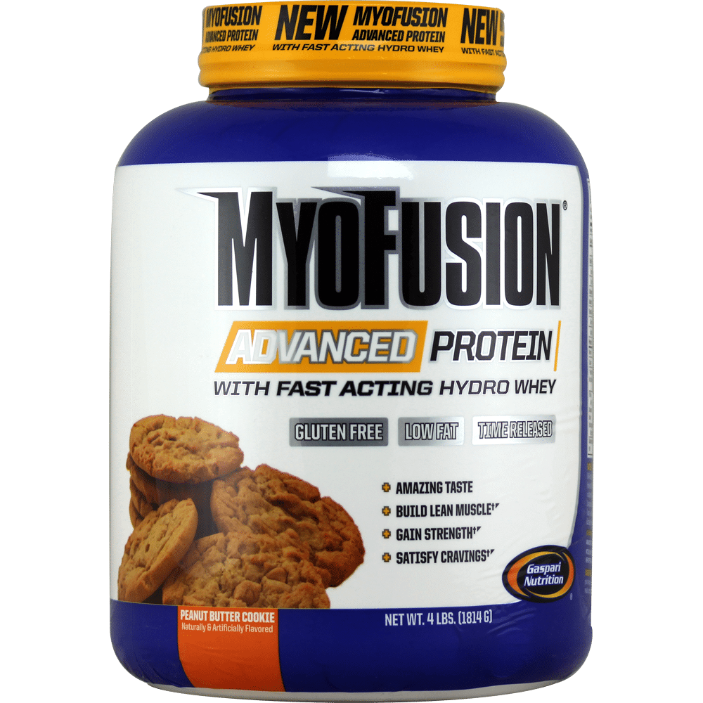 Gaspari Myofusion Advanced Protein Peanut Butter Cookie Dough 4