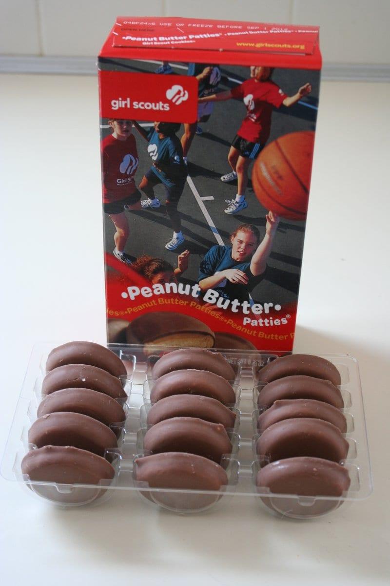 Girl Scout Cookie Cupcake Recipe – Peanut Butter Patties