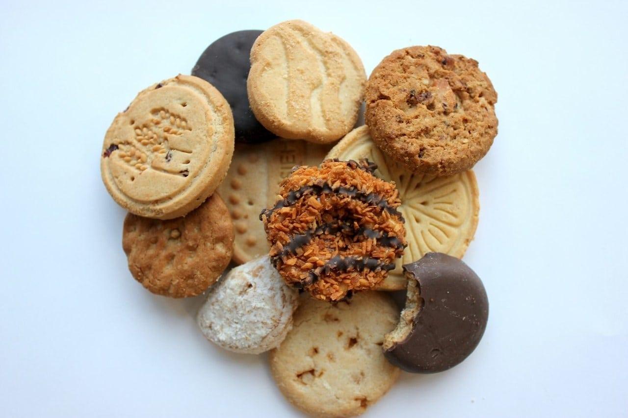 Girl Scout Cookie Taste Test 2015  Gluten
