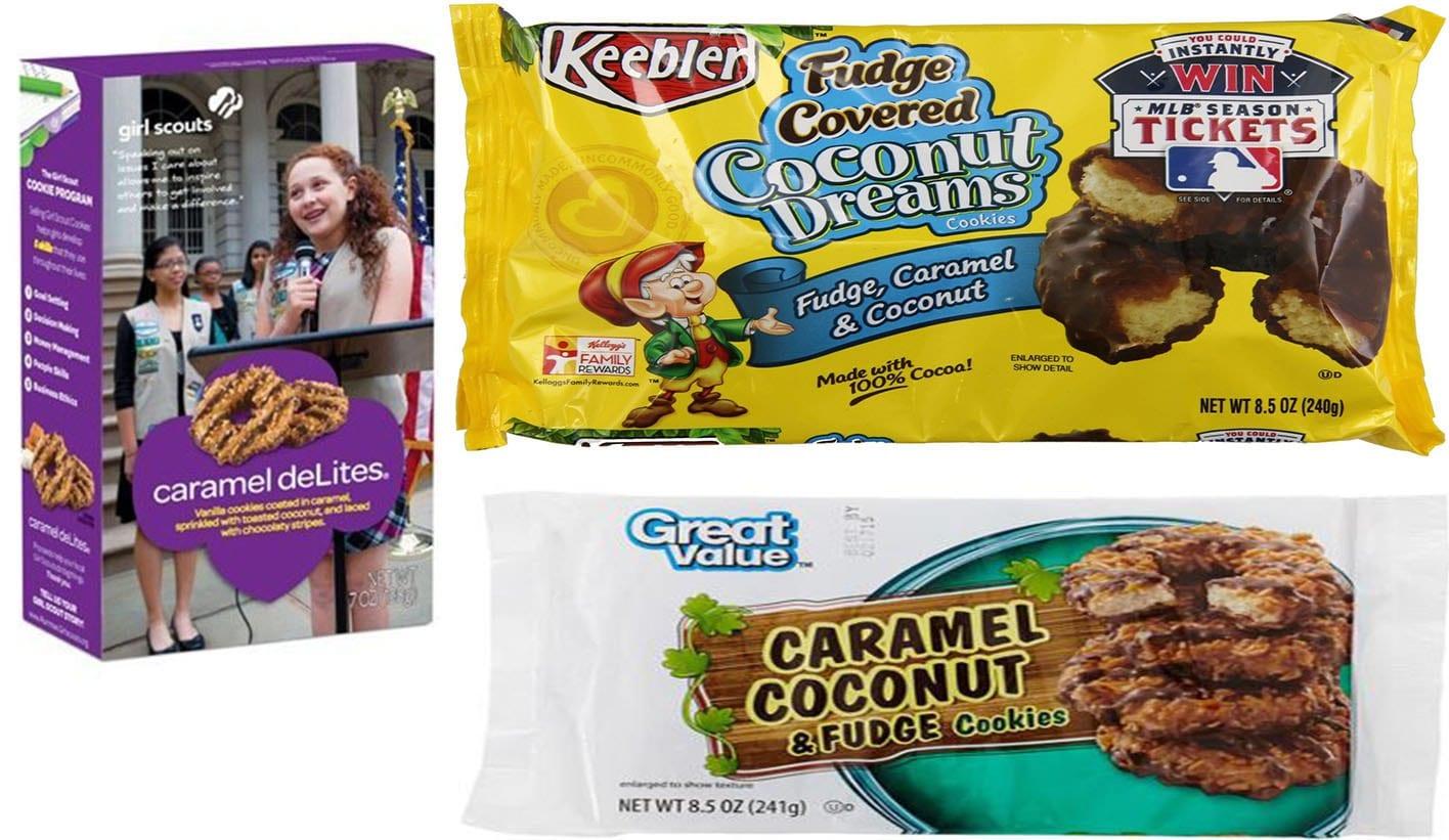 Girl Scouts Vs Keebler Vs Great Value  Coconut Cookie Blind Taste