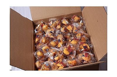 Golden Bowl Fortune Cookies Individually Wrapped 12