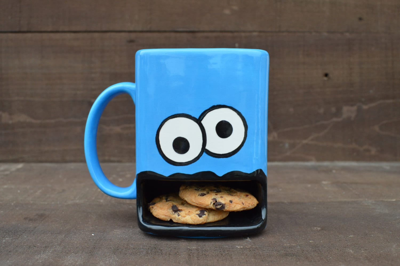 Googly Eyed Monster Dunk Mug