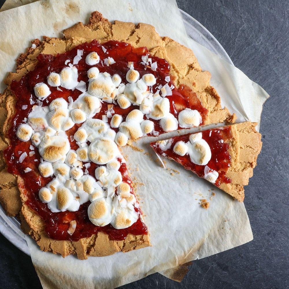 Halloween Sugar Cookie Pizza Recipe