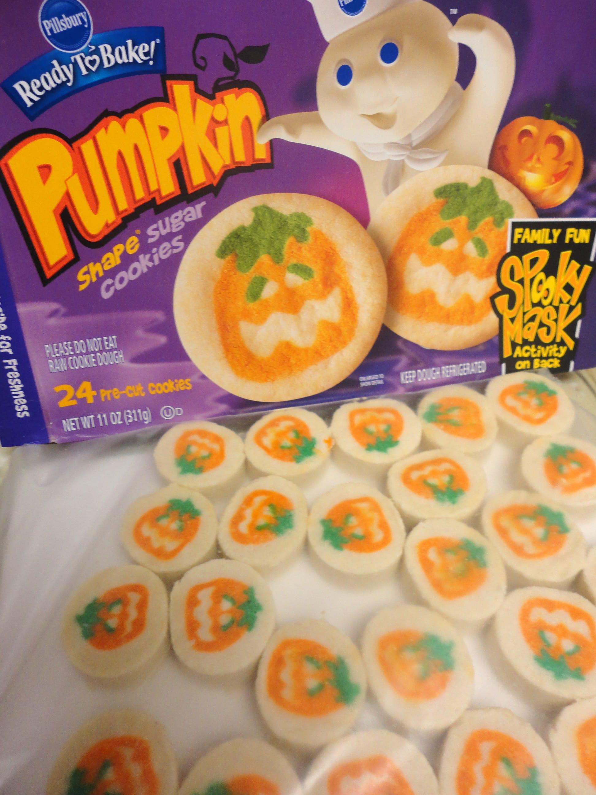 Halloween Sugar Cookies Pumpkincipe Grace Parisi Food Wine For