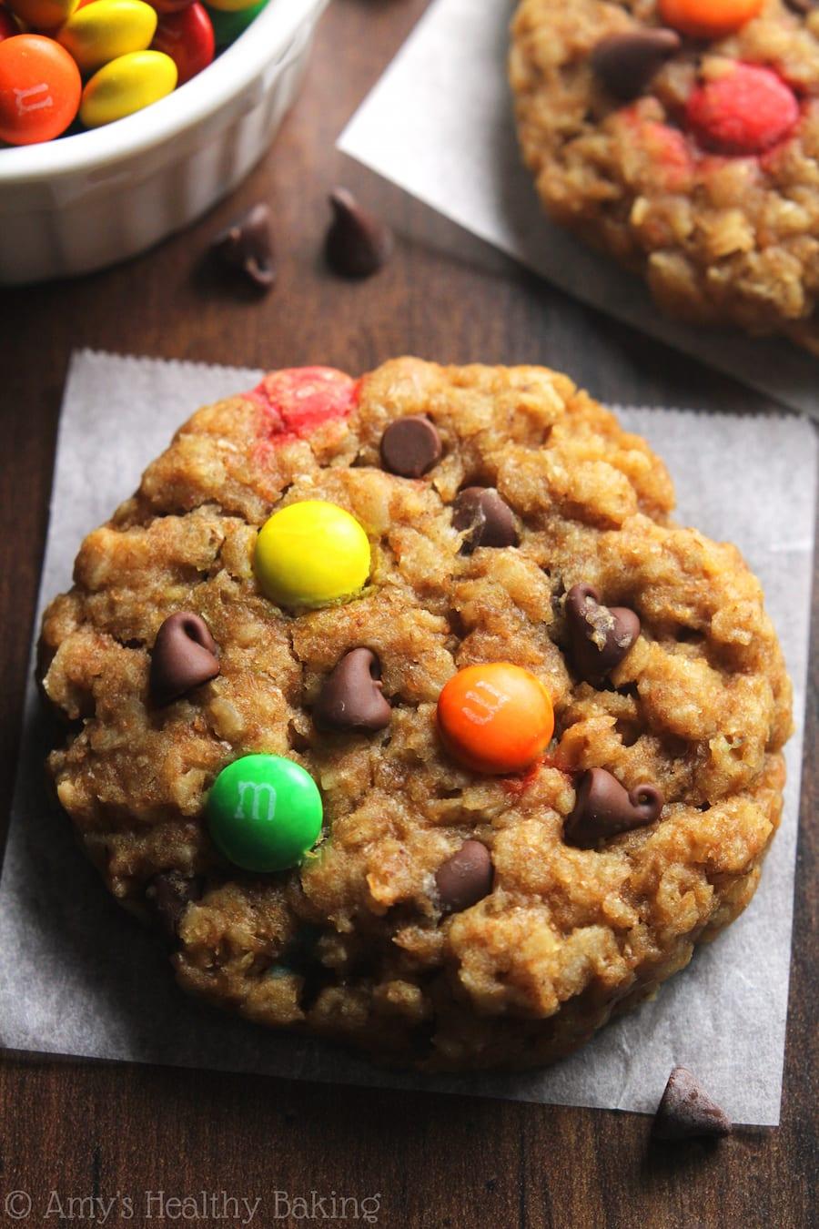 Healthy Classic Monster Cookies
