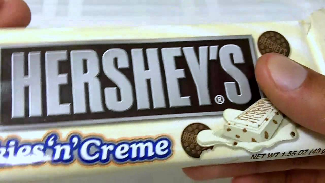 Hershey's Cookies And Cream Unwrapping And Review  [sir Sebastian