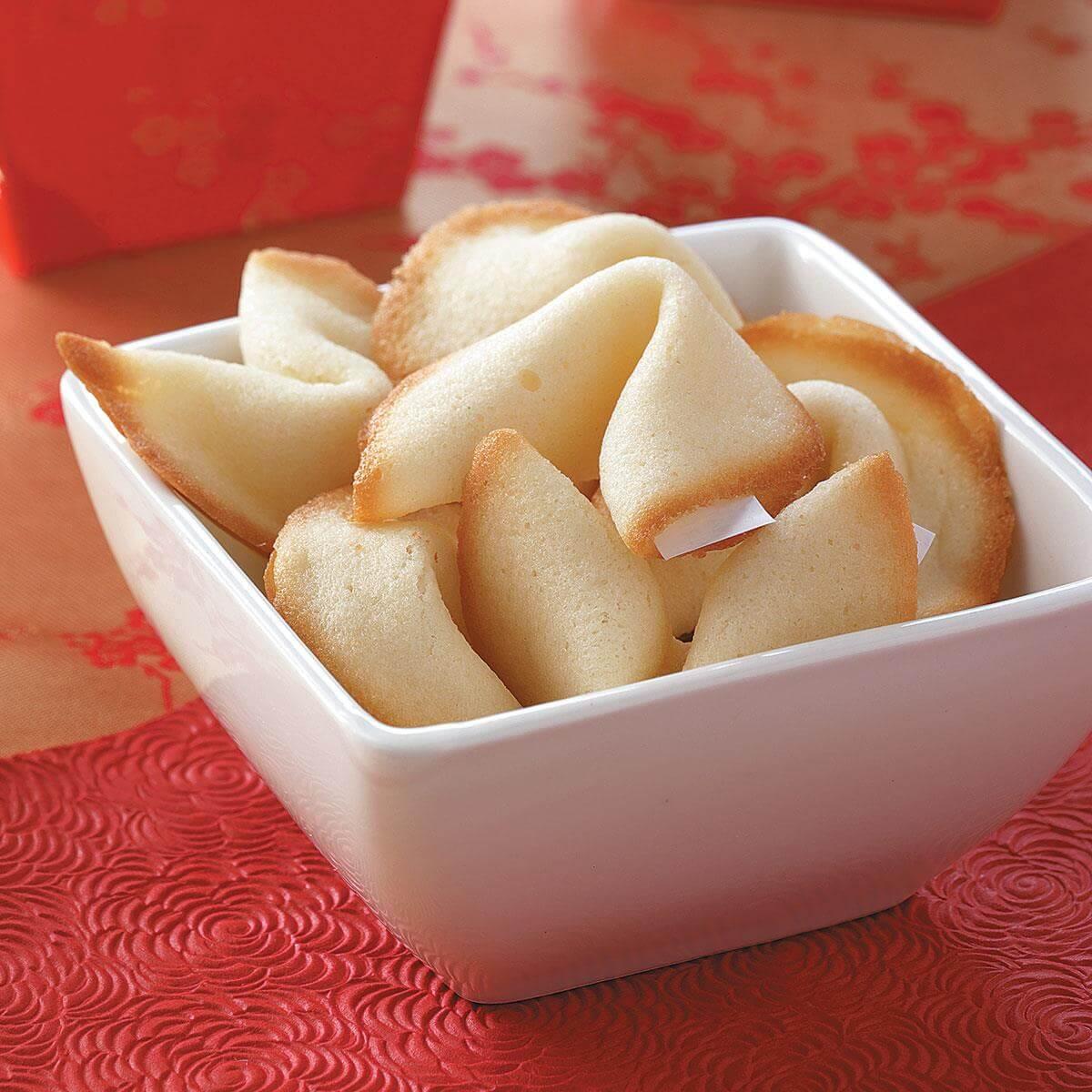 Homemade Fortune Cookies Recipe