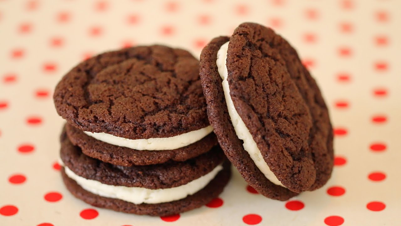 Homemade Oreo Cookies Recipe  How To Make Oreo From Scratch