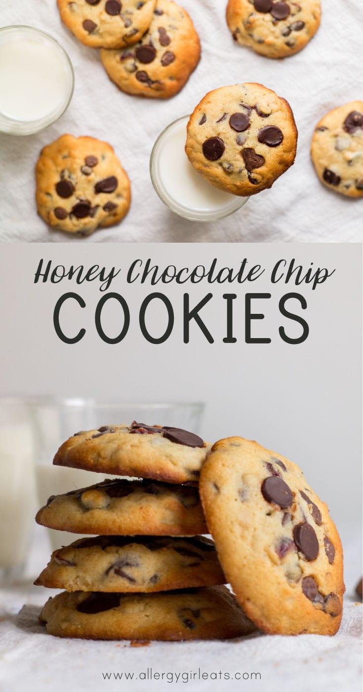 Honey Chocolate Chip Cookies