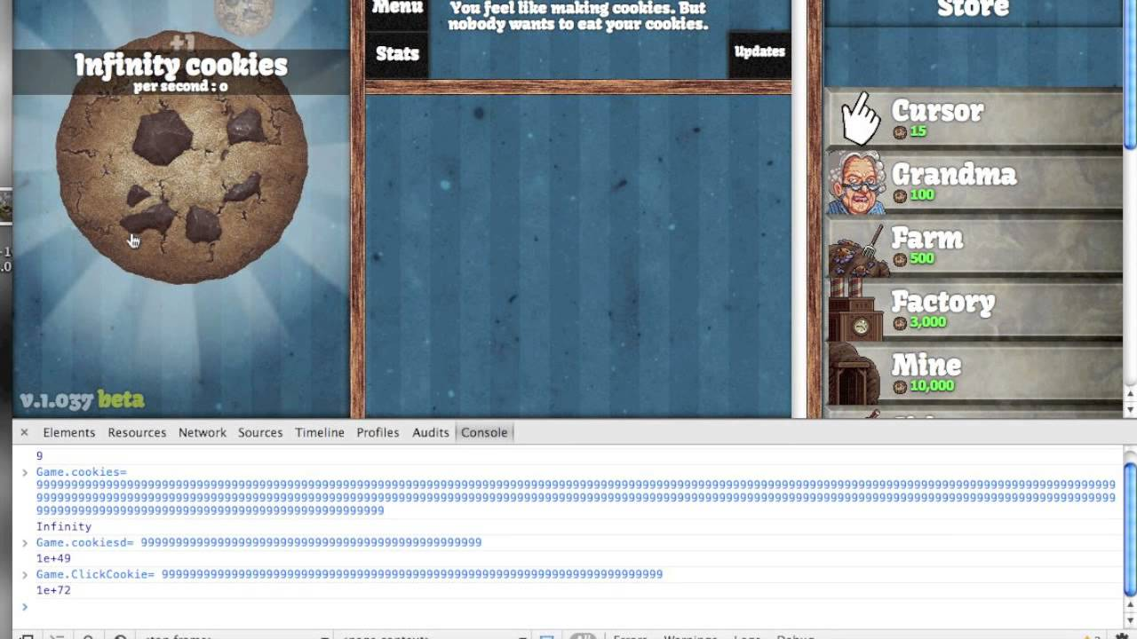 How To Cheat  Cookie Clicker Infinity Cookies! {mac And Pc}