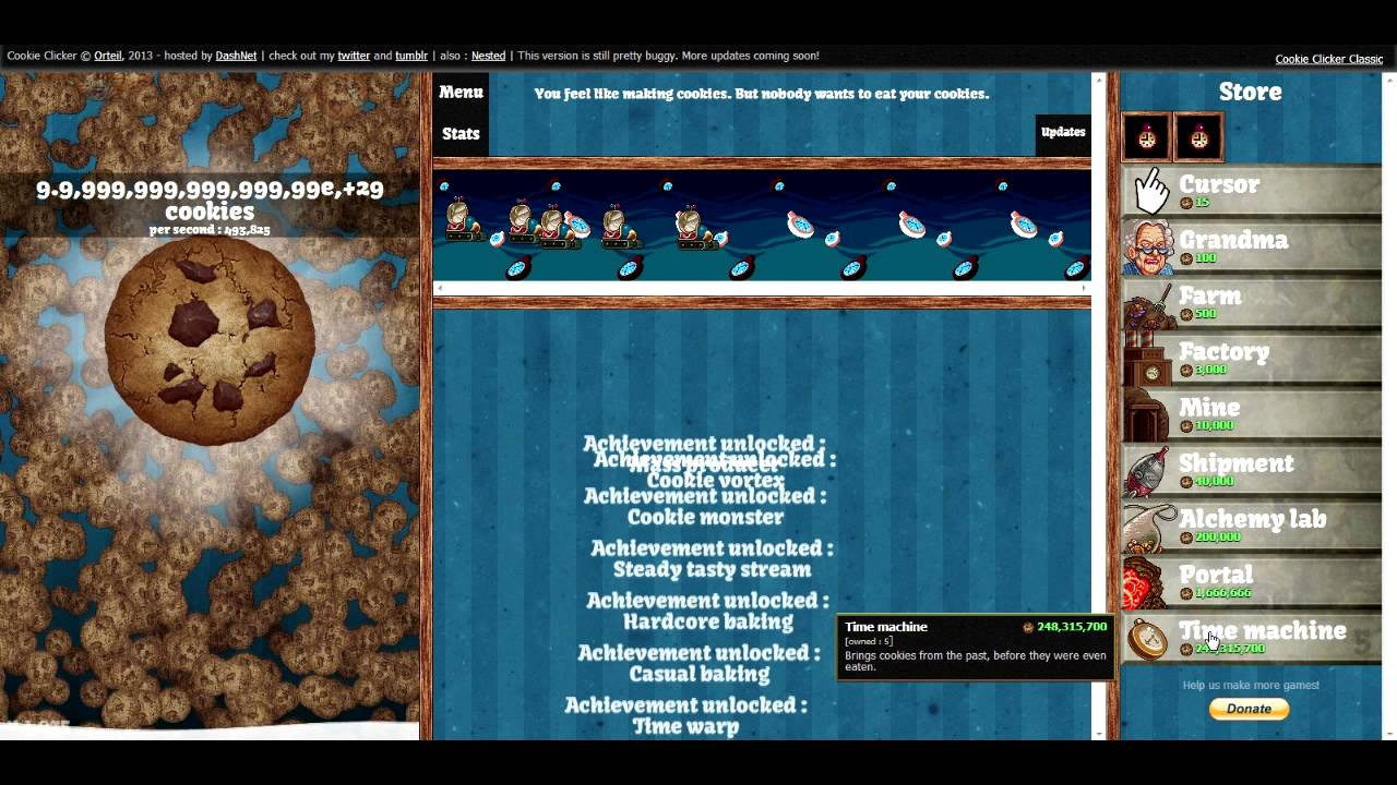 How To Cheat On Cookie Clicker (v 1 0466)