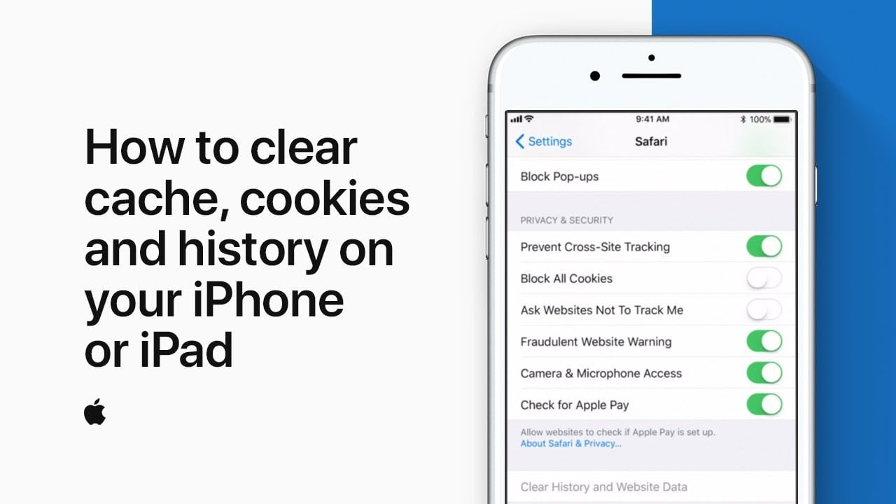 How To Clear Cache, Cookies And History On Your Iphone Or Ipad