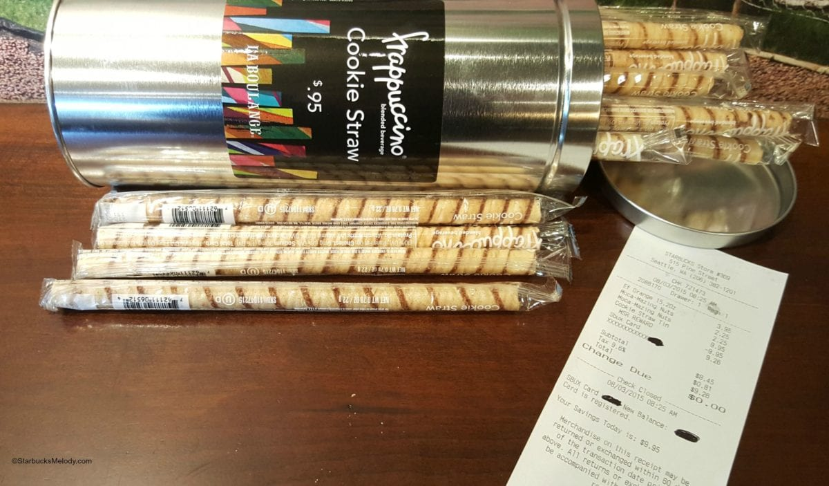 How To Get A Free Tin Of Starbucks Cookie Straws