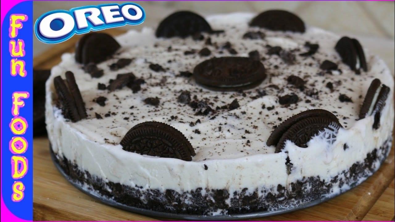 How To Make A Homemade Oreo Ice Cream Cake