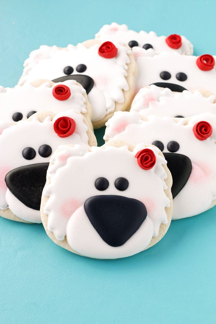 How To Make These Simple Polar Bear Cookies