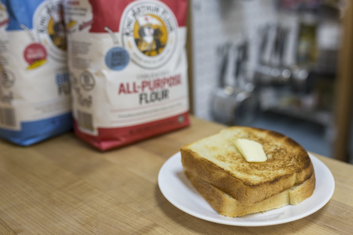 How To Substitute Bread Flour For All