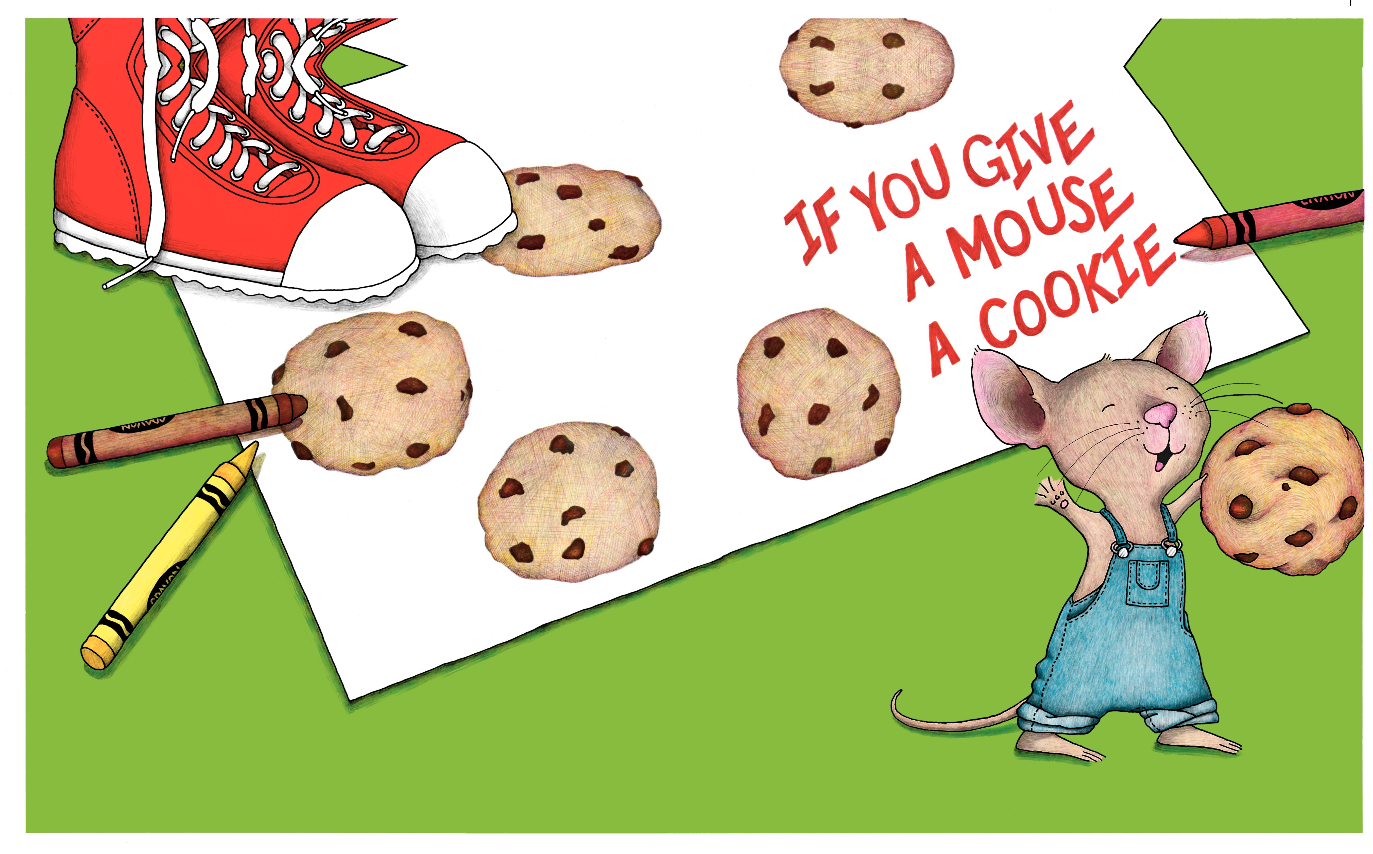 Images Of If You Give A Mouse A Cookie Illustrations