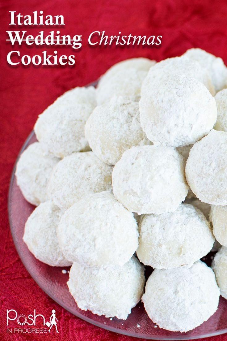 Italian Wedding (christmas) Cookies