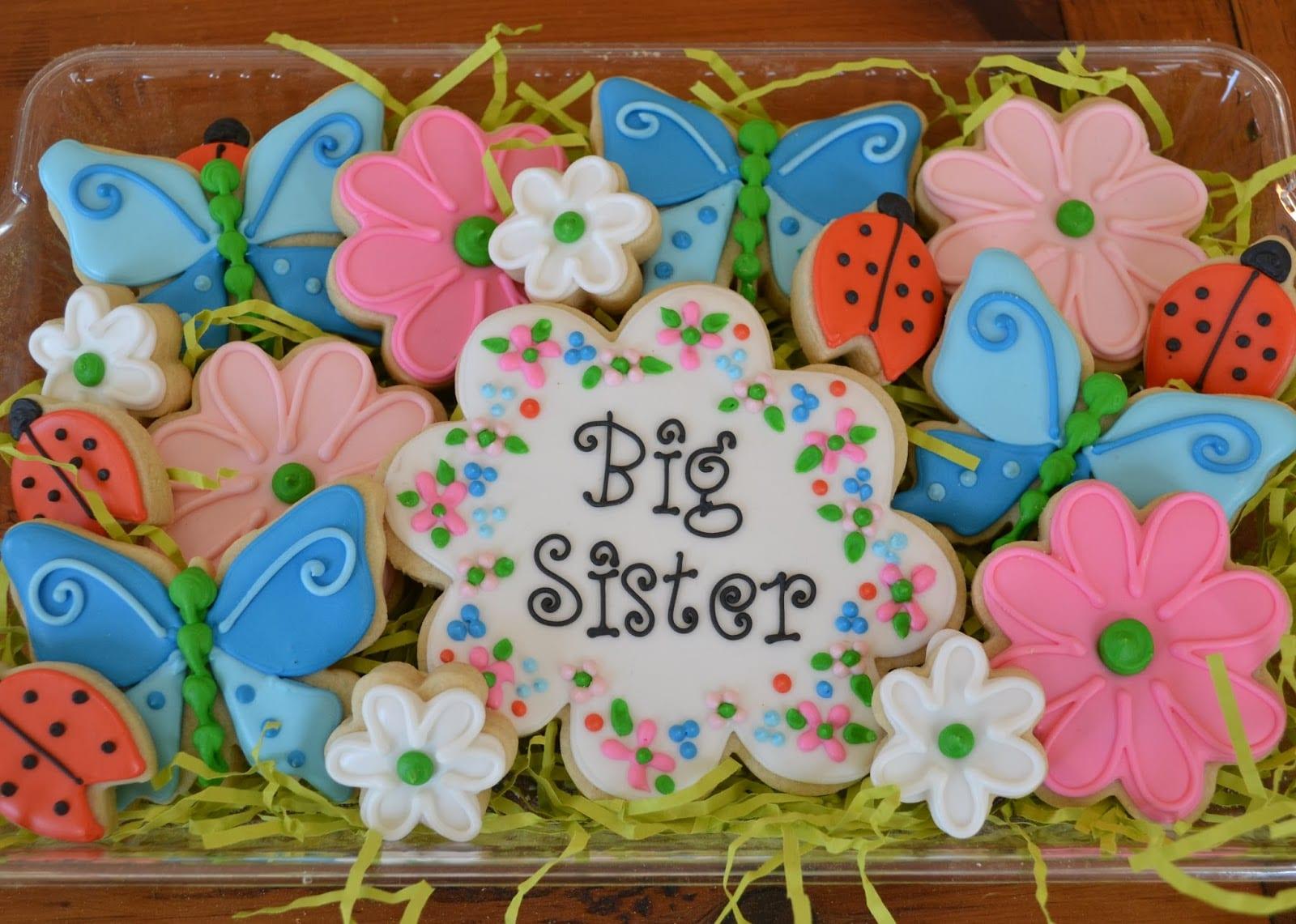 Jackandy Cookies  Big Sister Cookie Platter