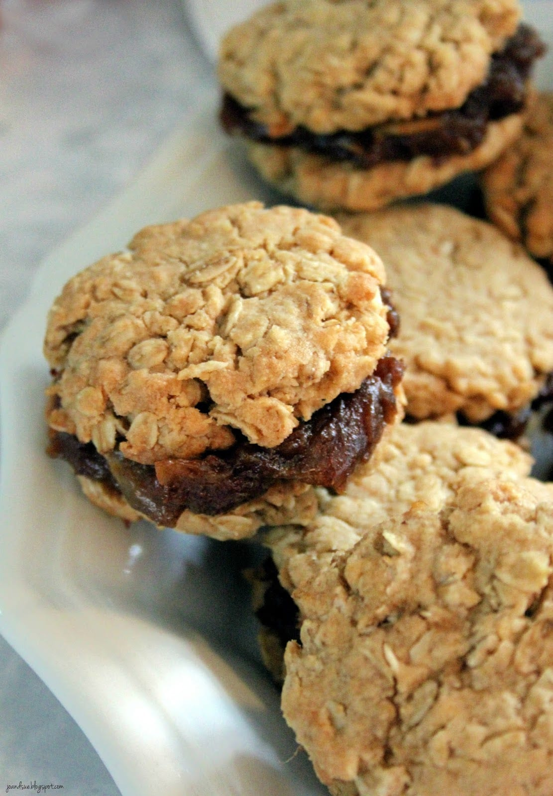Jo And Sue  Old Fashioned Date Filled Oatmeal Cookies