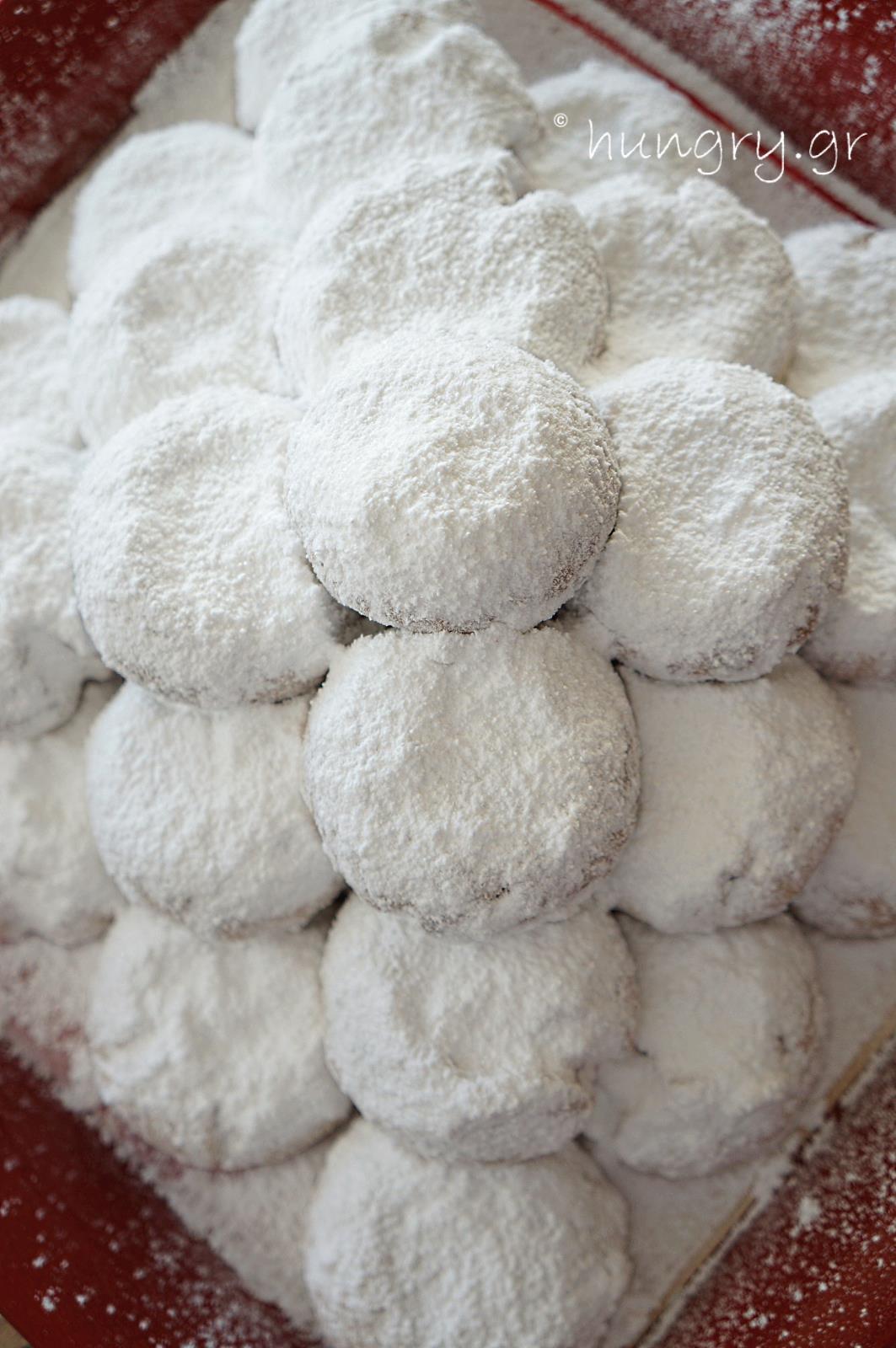 Kitchen Stories  Kourabiedes  Greek Christmas Butter Cookies