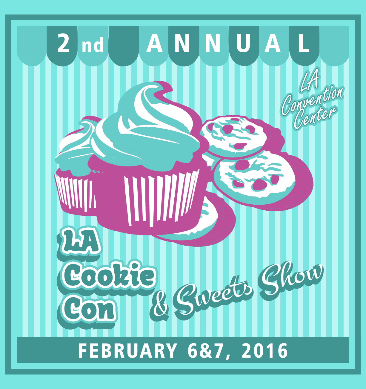 La Cookie Con And Sweets Show 2016