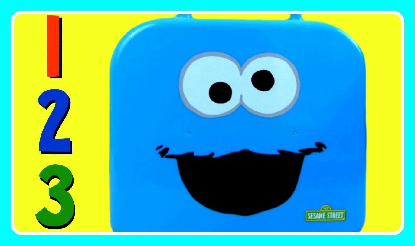 Learn Numbers 123 With Cookie Monster! Sesame Street Cookie
