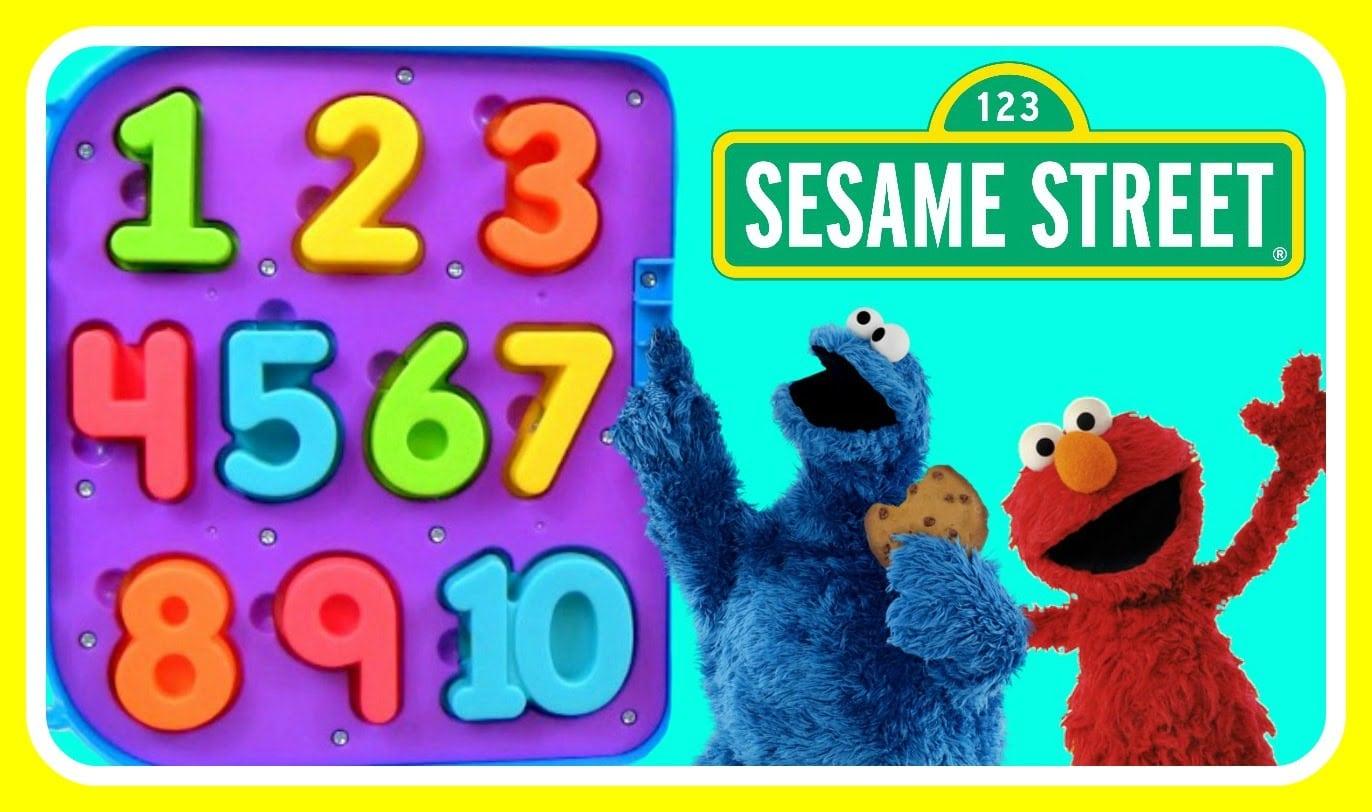 Learn Numbers 123 With Sesame Street Cookie Monster! Sesame Street