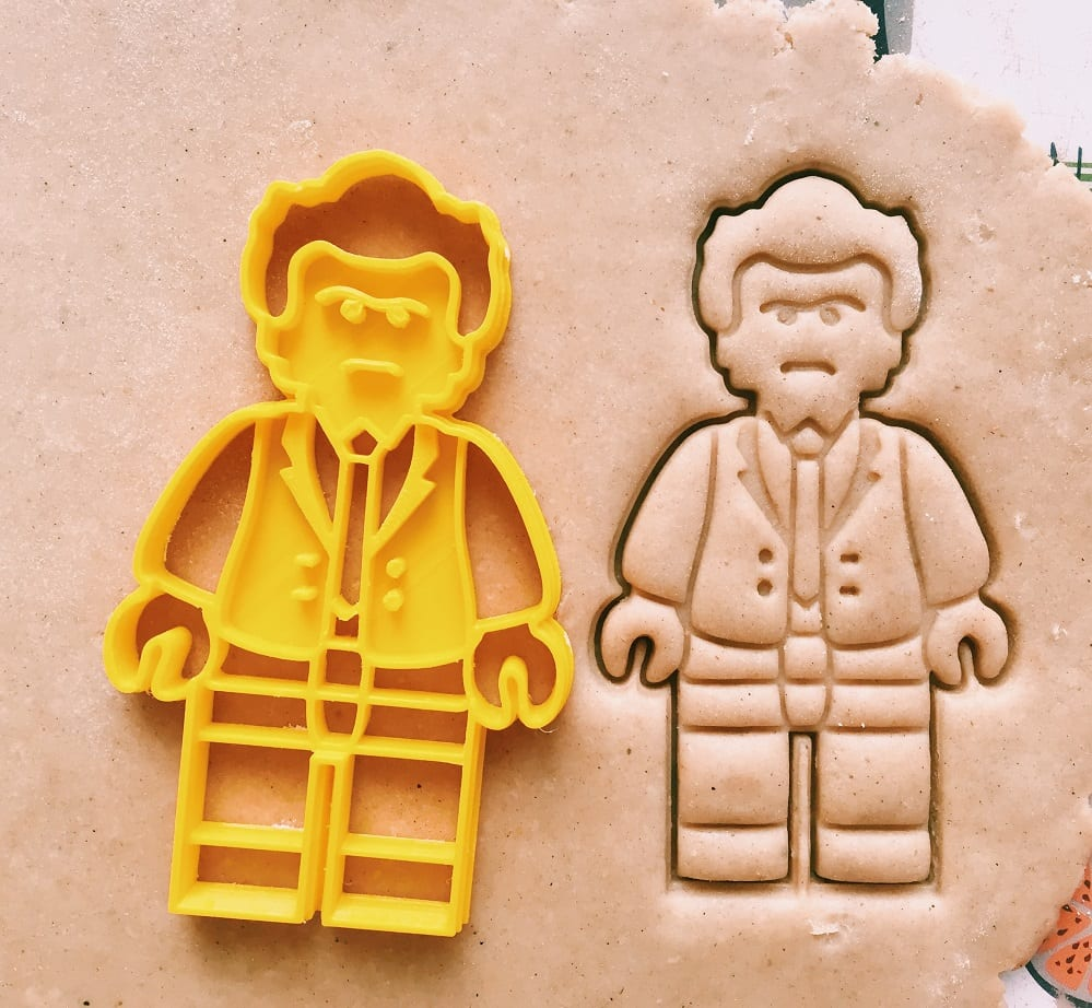 Lego Businessman Cookie Cutter