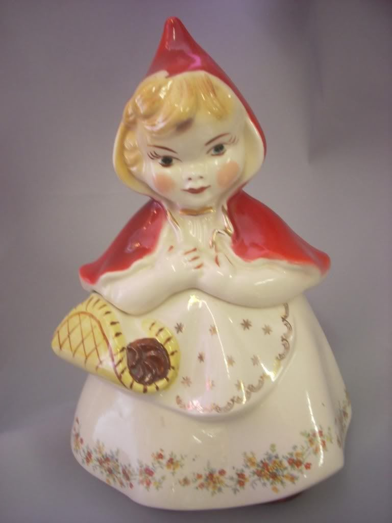 Little Red Riding Hood Cookie Jar~memories Of Afternoons At My