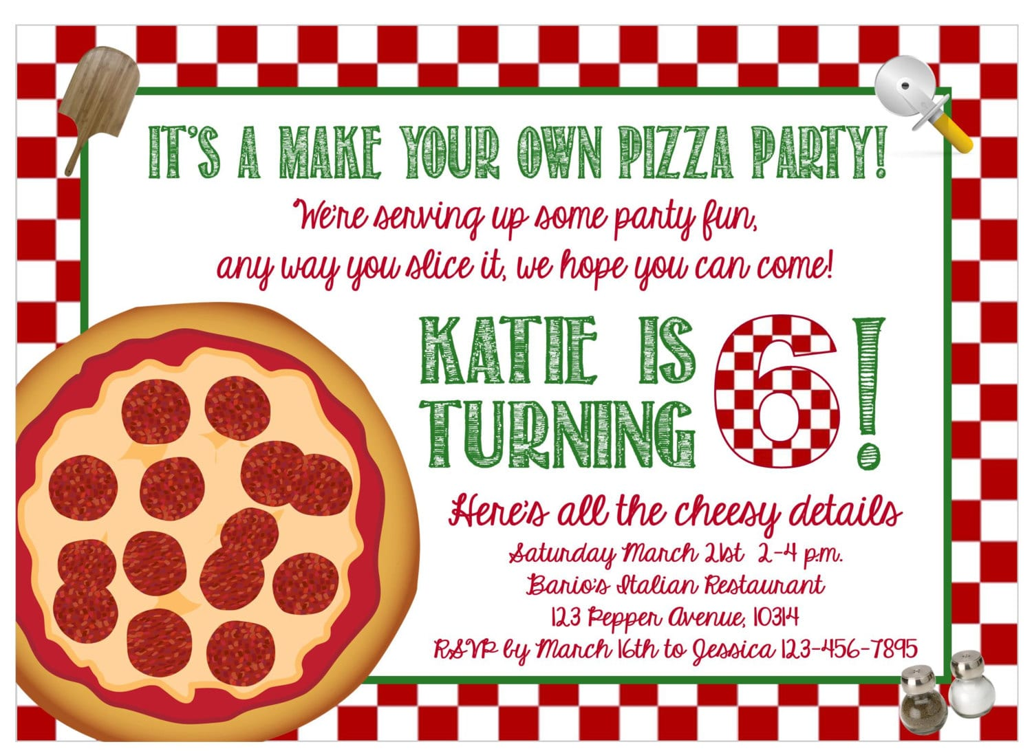 Make Your Own Party Invitations Free