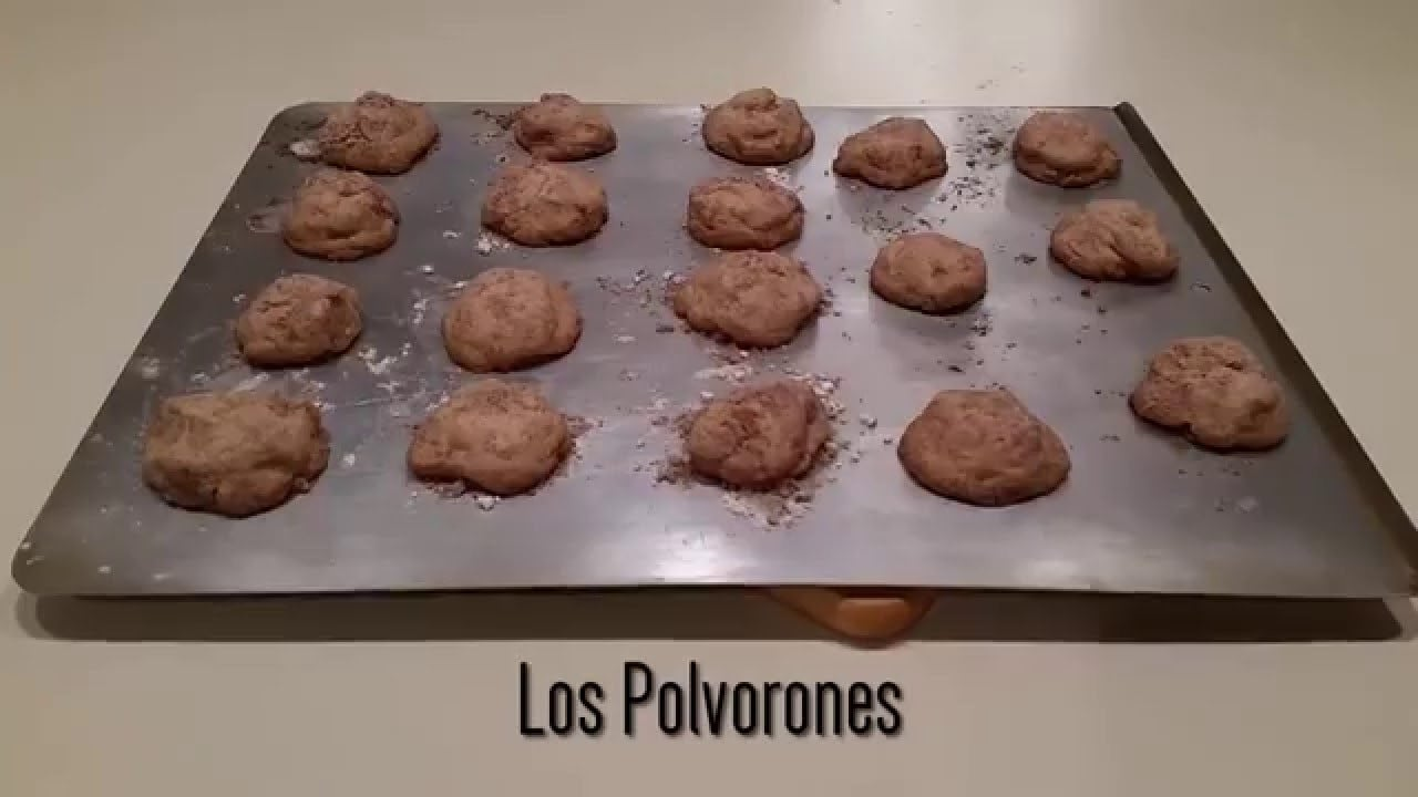 Making Cinnamon Sugar  Polvorones   Mexican Wedding Cookies