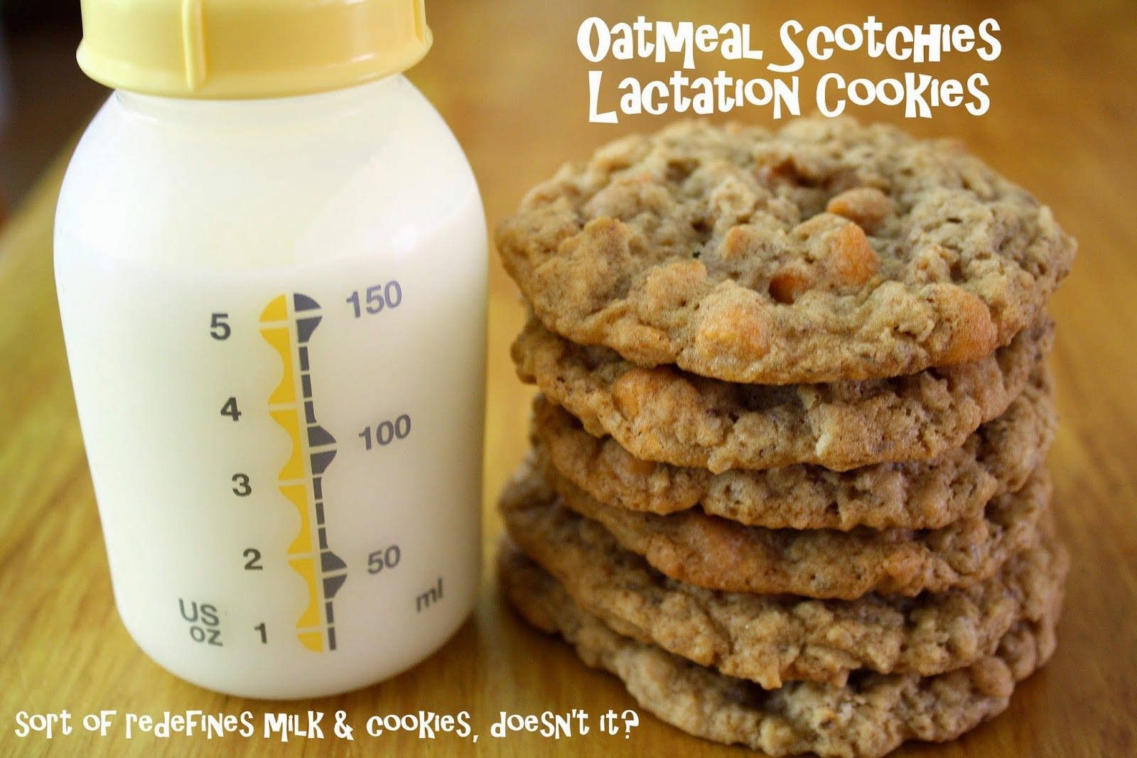 Making Mama's Kitchen  Oatmeal Scotchies (includes Recipe For