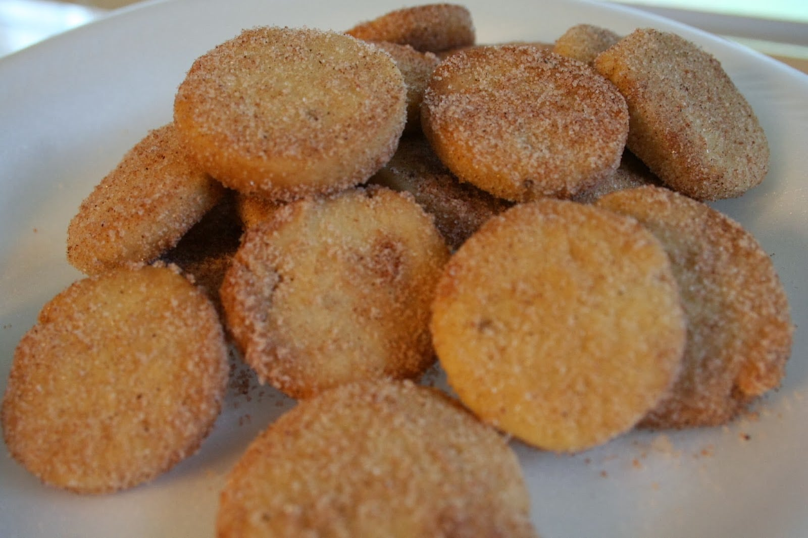Mexican Cookies With Cinnamon And Sugar