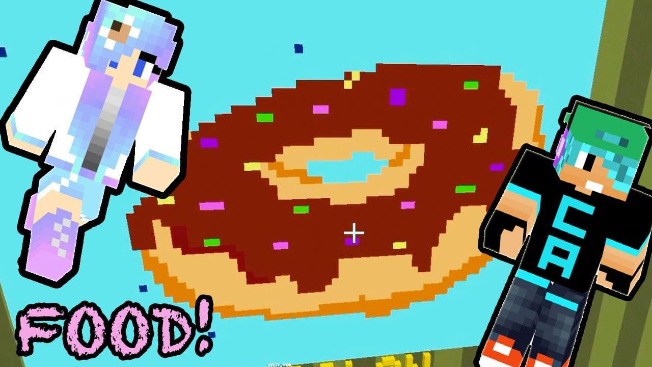 Minecraft   Pixel Painters   Delicious Food   Cookieswirlc