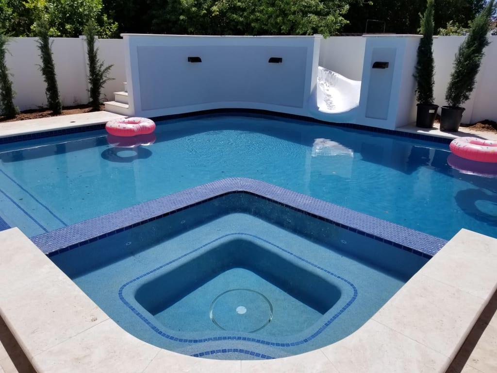 Morris Pools – Construction