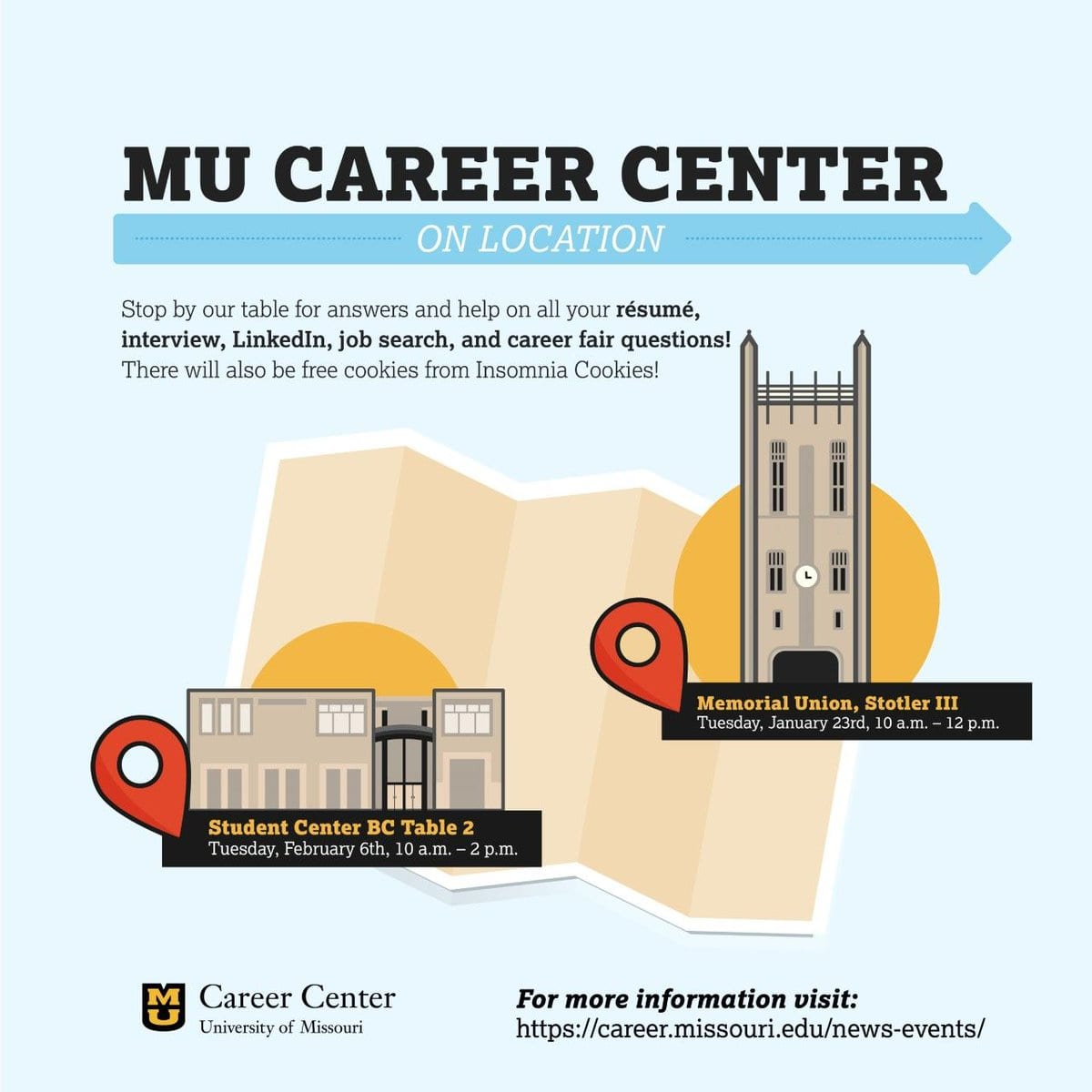 Mu Career Center On Twitter   The Career Center Is Coming To You