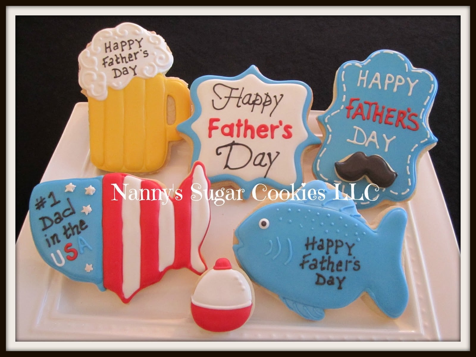 Nanny's Sugar Cookies Llc  Celebrating Dadshappy Father's Day 2016