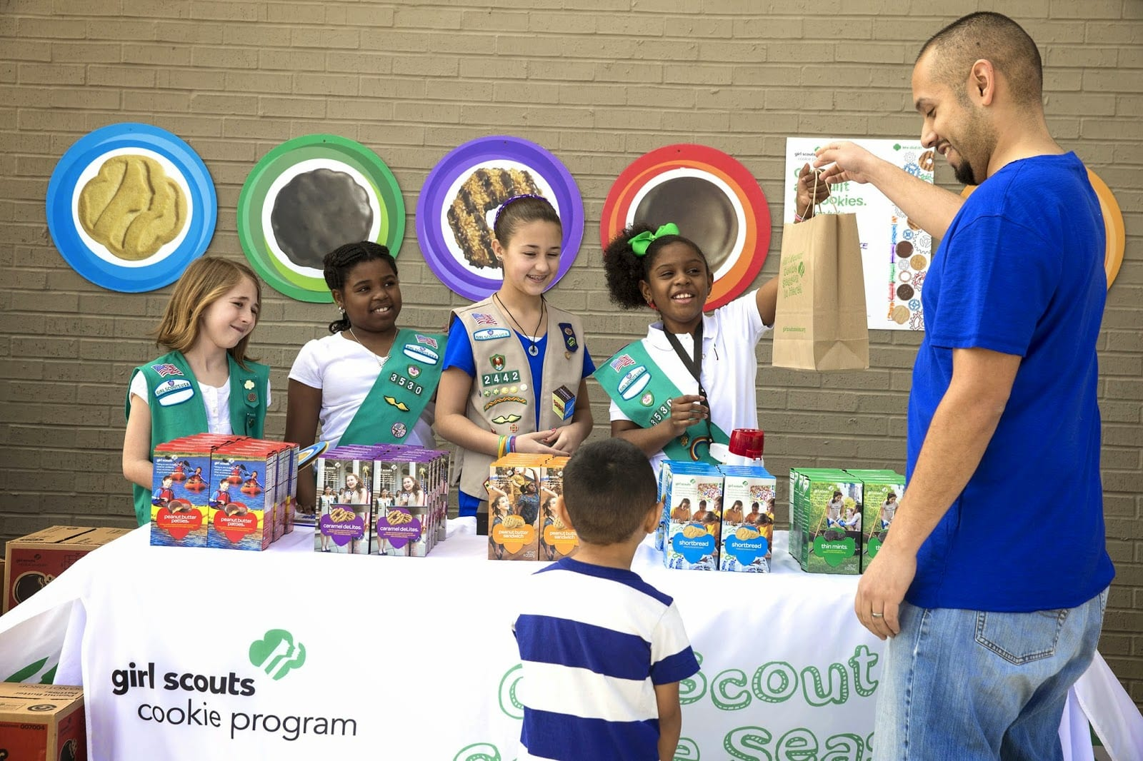 National Girl Scout Cookie Weekend Is Coming Along With Three New