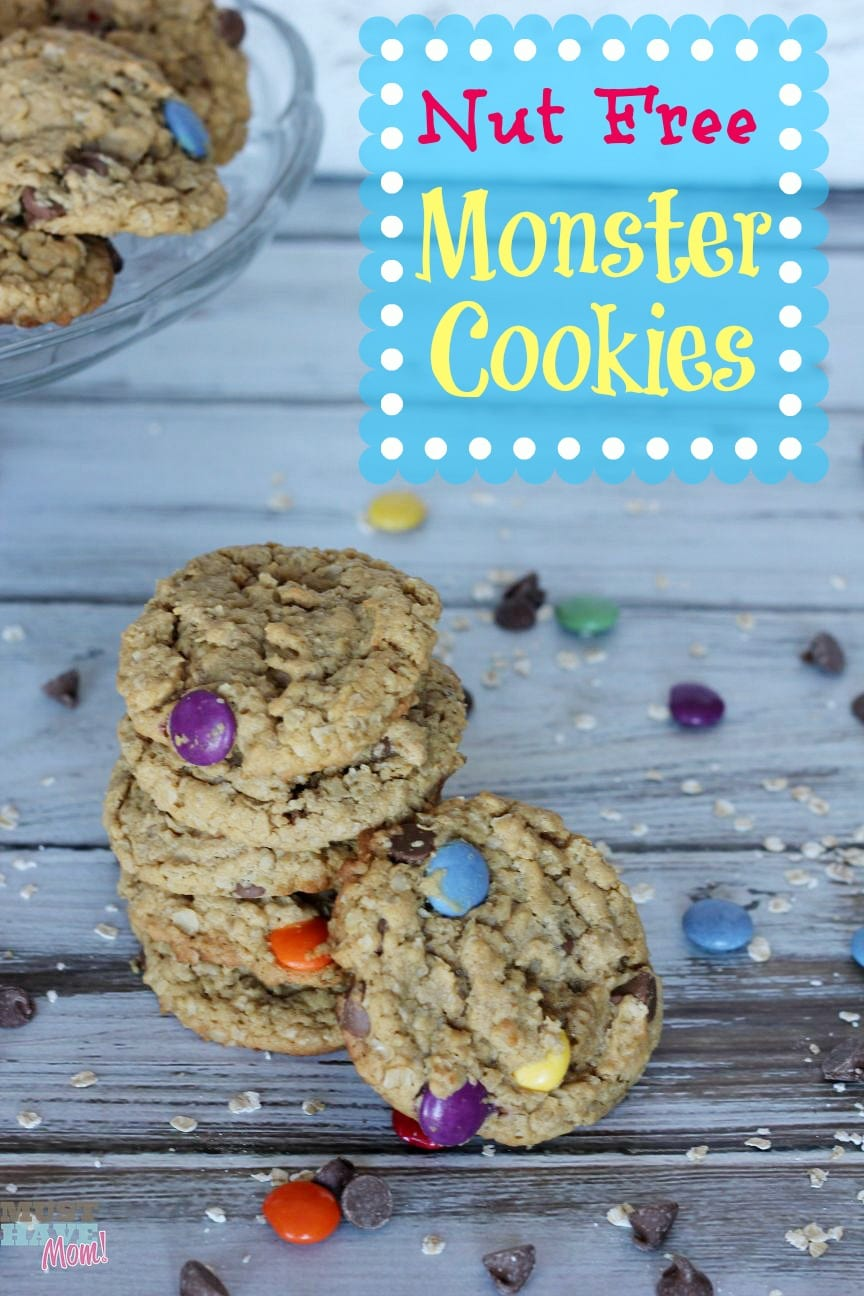 Nut Free Monster Cookies Recipe