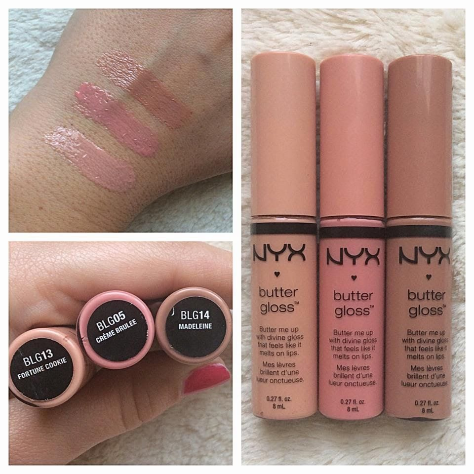 Nyx  Nude Butter Gloss Shades