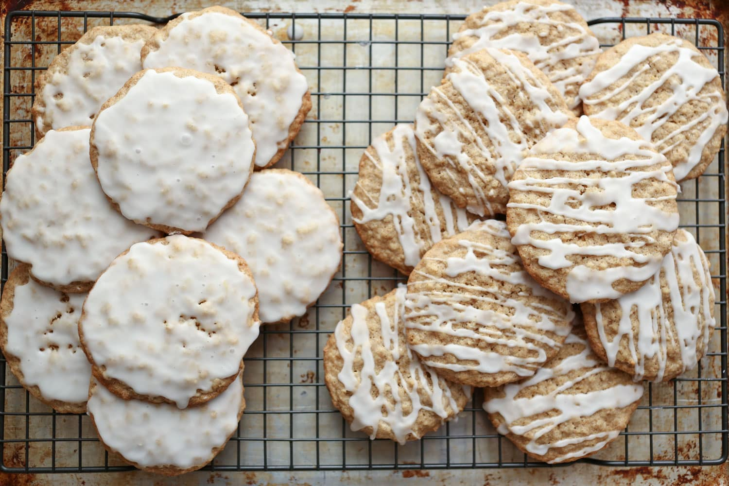 Old Fashioned Iced Oatmeal Cookies {traditional And Gluten Free