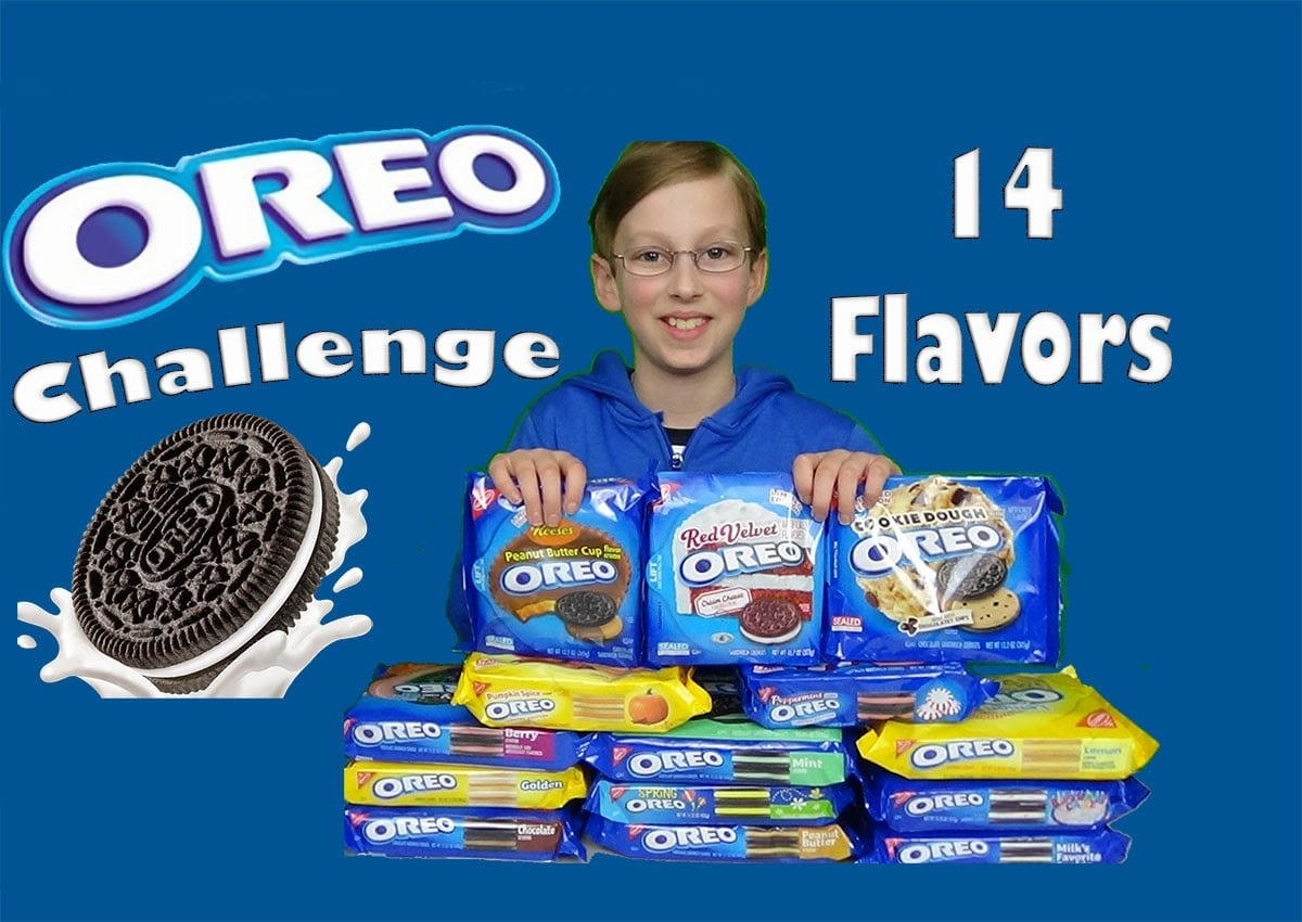 Oreo Challenge Taste Test