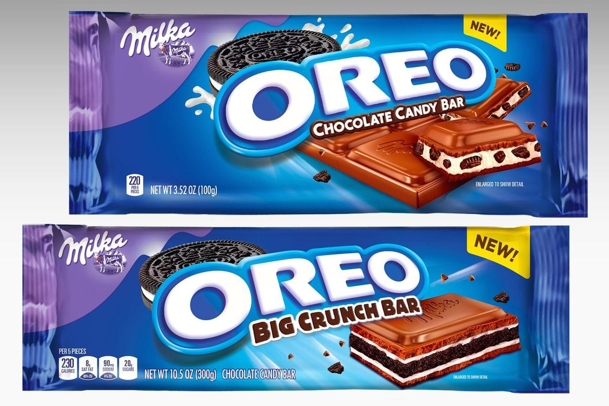 Oreo's Newest Cookie Is A Candy Bar