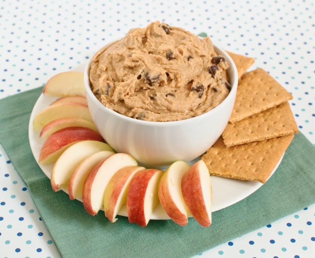 Peanut Butter Cookie Dough Dessert Hummus