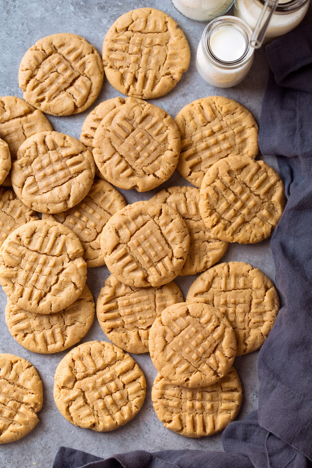 Peanut Butter Cookies {best Easy Recipe! With Video}