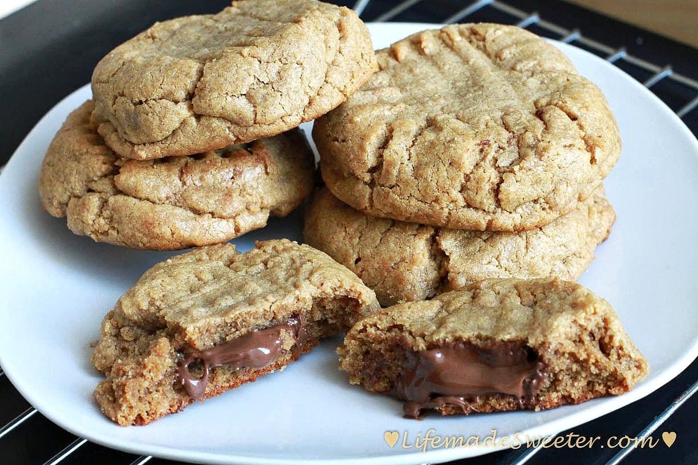 Peanut Butter Nutella Cookies – Recipesbnb