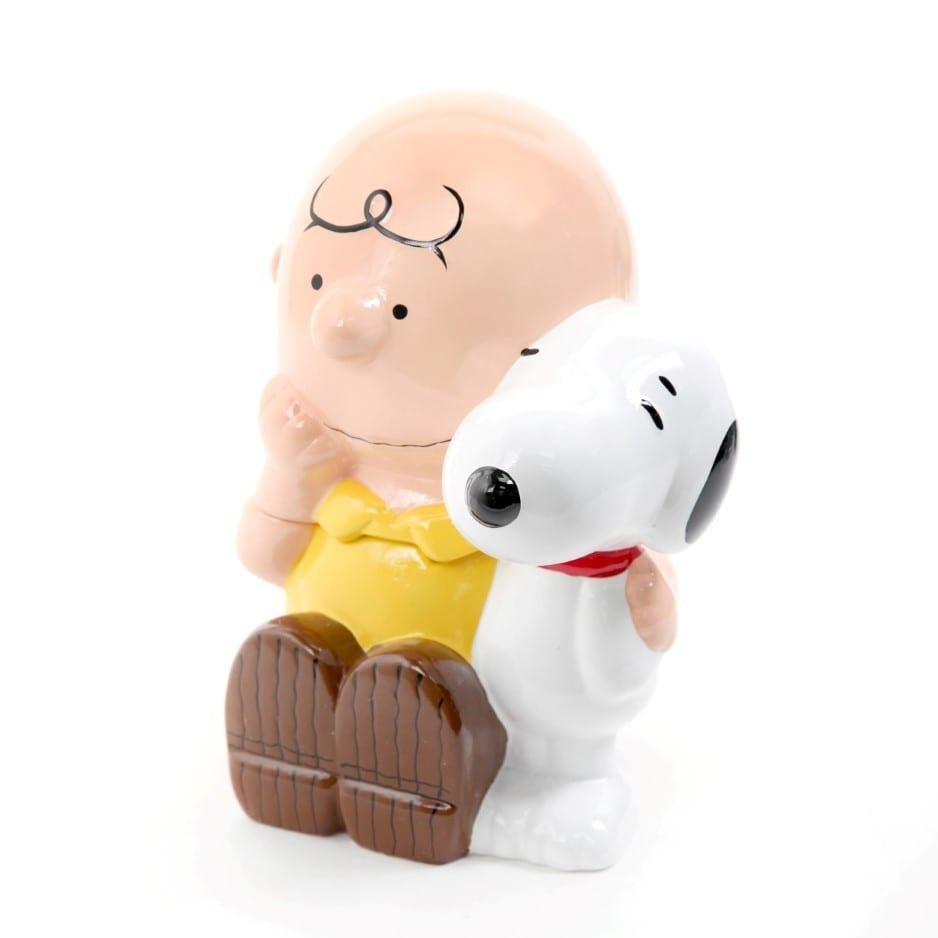 Peanuts Charlie And Snoopy Cookie Jar