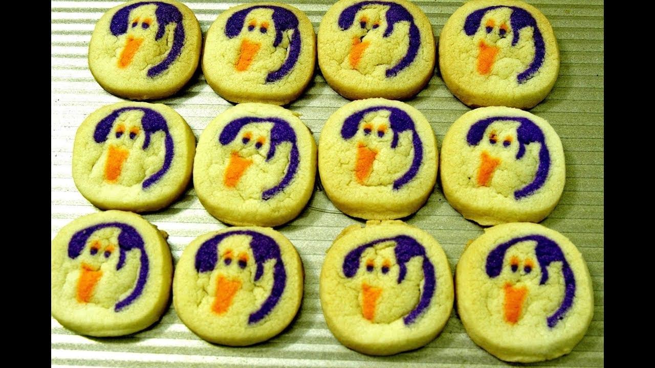 Pillsbury Ghost Shape Sugar Cookies